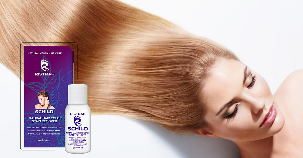 sulfate free schild hair color stain remover