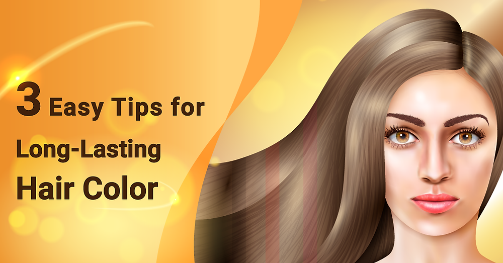Healthy & Long-Lasting Hair Color