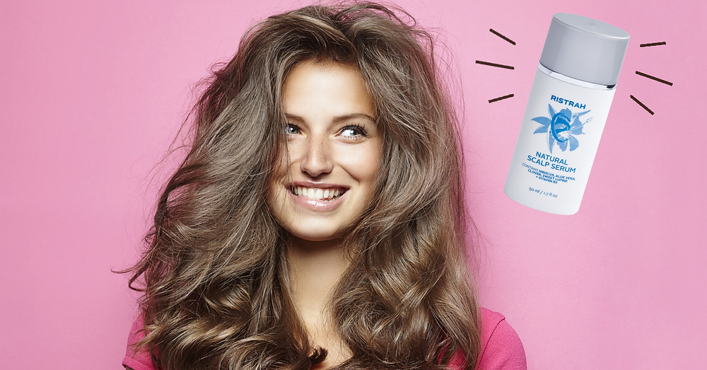 ristrah strengthens hair scalp serum