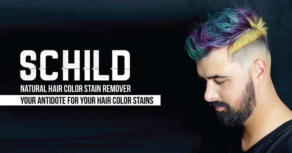 Schild narural hair color stain remover your antidote for your hair color stains