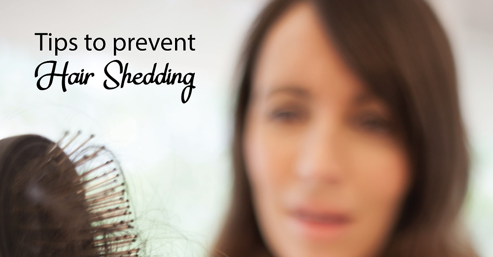 Tips to prevent hair shedding