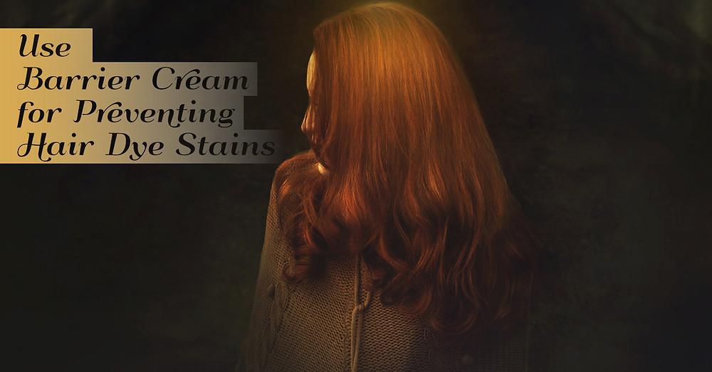 Hair dye stains -Ristrah