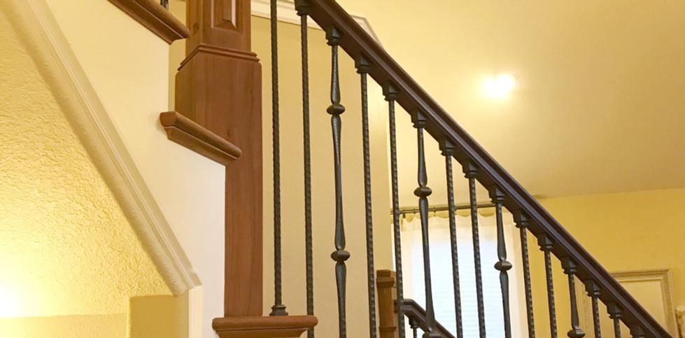 Exotic Cumaru Wood Staircase
