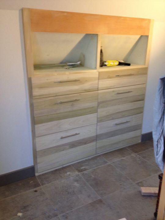 Poplar Attic Dresser