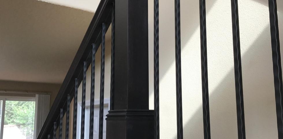 Eastern Maple Craftsman Style Handrail
