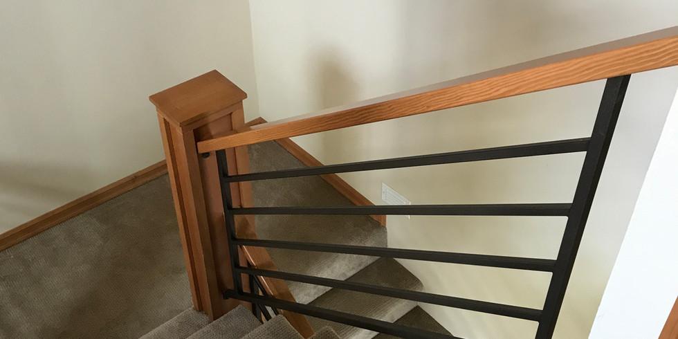 Iron Tubular Stair