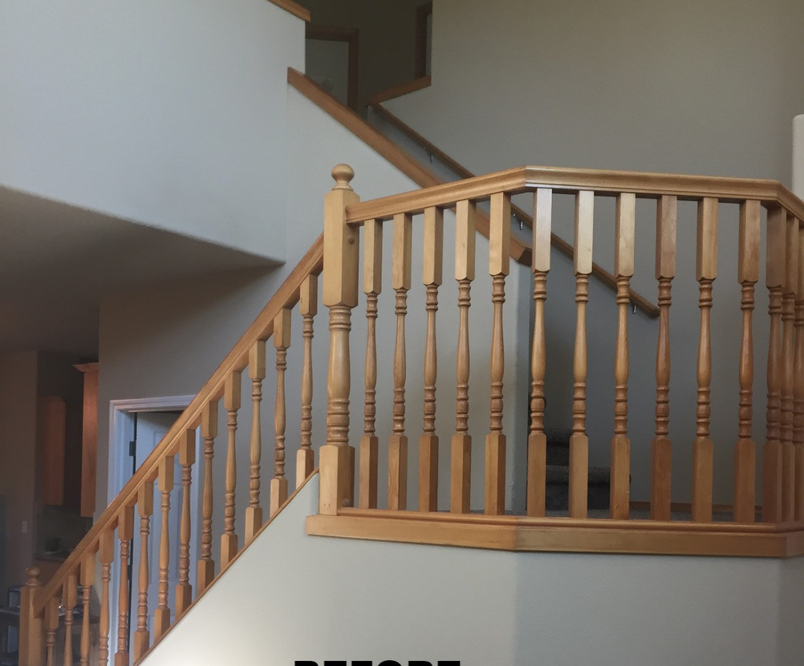 Eastern Maple Craftsman Style Handrail