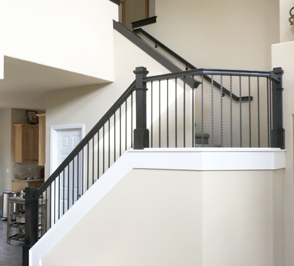 Craftsman Style Handrail System.