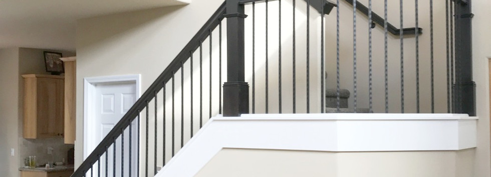 Craftsman Style Handrail System.