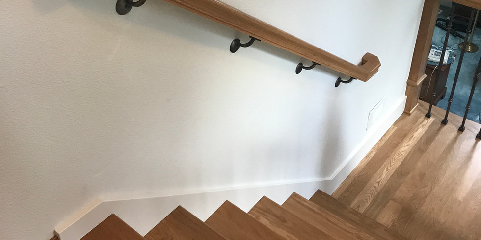 White Oak Staircase