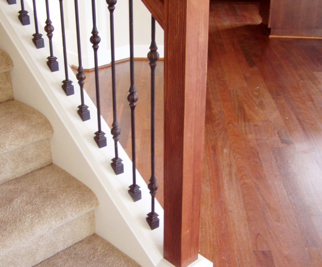 Craftsman Style Handrail System