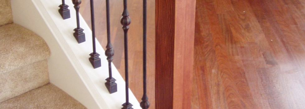 Craftsman Style Handrail System
