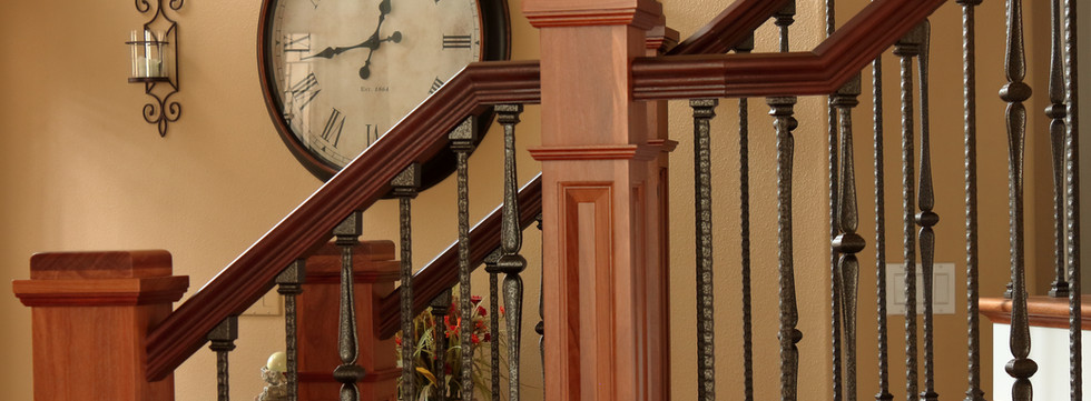 A Beautiful Brazilian Teak Stair Make Over