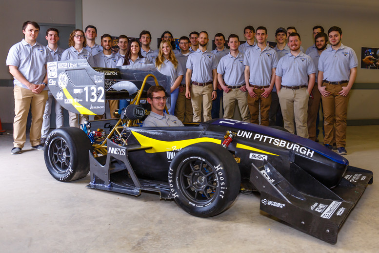 Pitt Engineering Students Unveil their Car