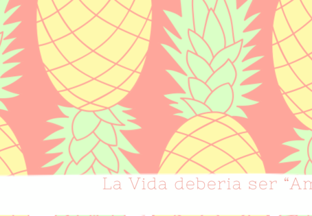 """La Vida debería ser """"Amarilla"""" (Amar y ya)"""