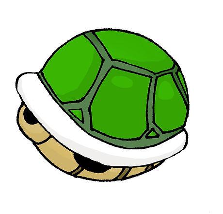 koopa shell green flat.jpg