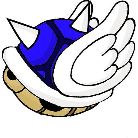 koopa shell blue with wings flat.jpg
