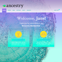 Ancestry Site Redesign
