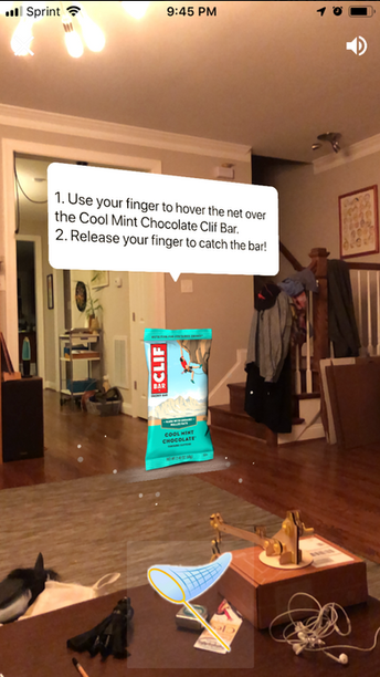 Clif for Kids - AR Game