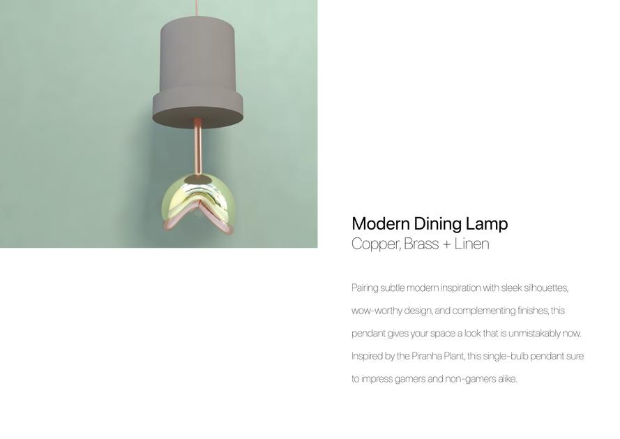 Nintendo Piranha Plant Lamp