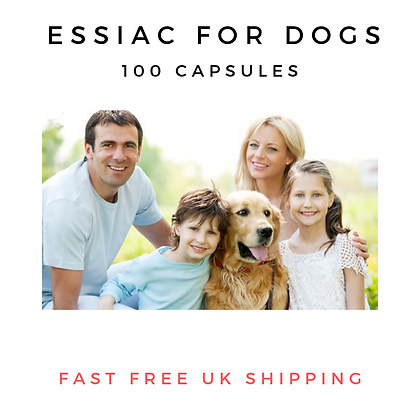 Essiac for Dogs. 100 Capsules of goodness.