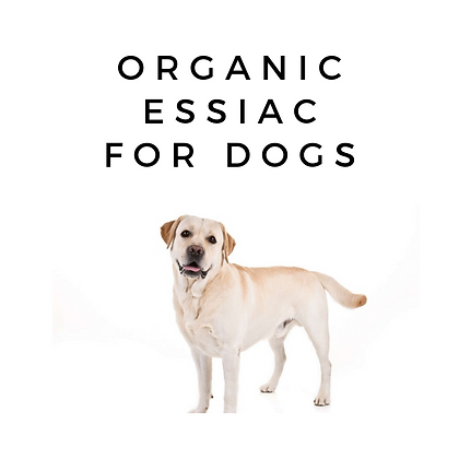 Essiac Tea For Dogs.  Organic Immune Booster.