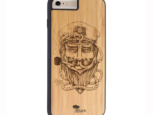 THE CAPTAIN iPhone Case by iBark
