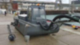 Земснаряд, плавающий экскаватор Боцман 400