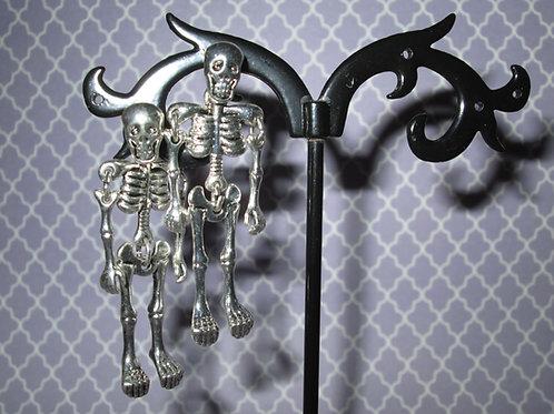 Jointed Skeleton Earrings