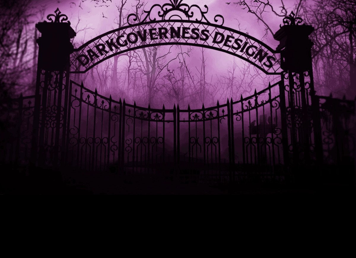 Darkgoverness Designs cemetery gates