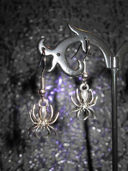 Simple Spider Earrings