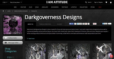 Darkgoverness Designs I Am Attitude screenshot