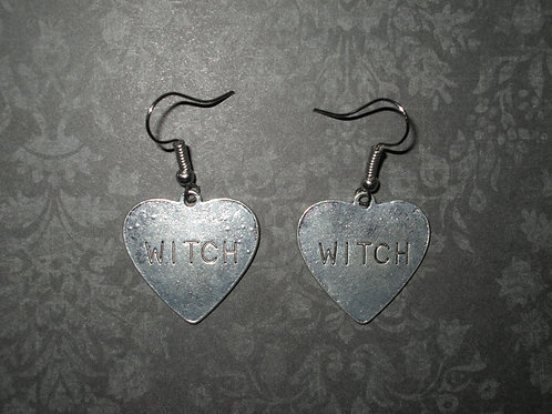 Witch Heart Earrings