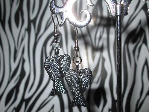Fallen Angel Wings Earrings