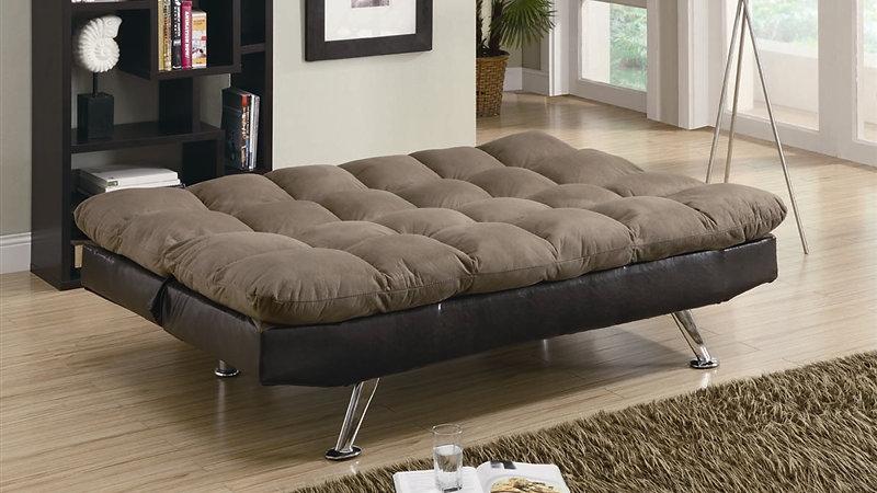 two tone microfiber sofa bed