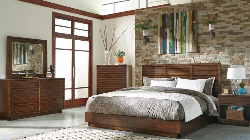 buen-hogar-furniture | Avery Queen Platform Bedroom Set