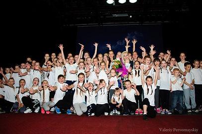 Выступление танцевального коллектива Кунцево