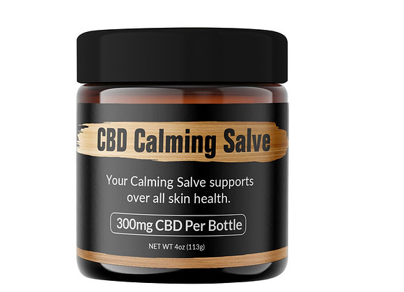 4 oz CBD Calming Salve