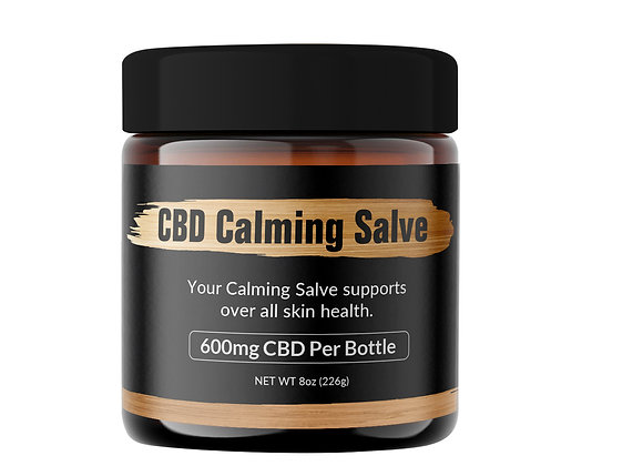 8 oz CBD Calming Salve