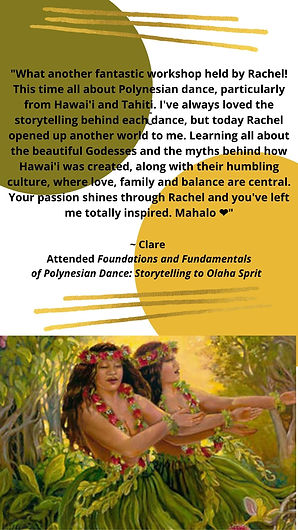 Polynesian foundation review from Clare