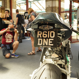 Meteor 850 at The Bike Shed Show 2017