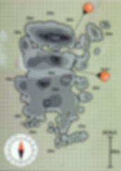 Карта дайвинг сайта Hin Wong Pinnacle