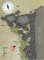 Карта дайвинг сайта King Kong