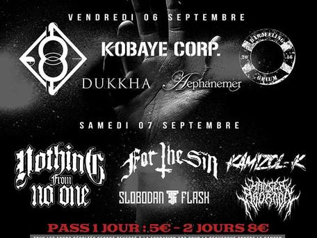 METAL HELP FEST 2 - Live @ Montpellier