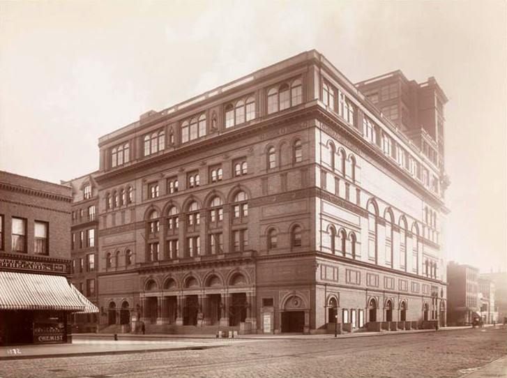 Carnegie Hall 1895