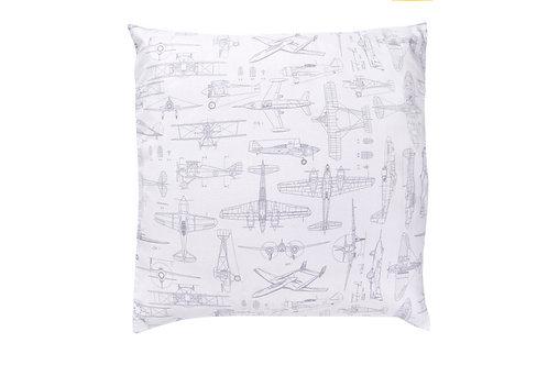Airplane cushion cover