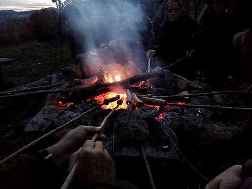 Camp bushCraft sur le Vercos