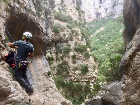 La vue des cimes - Parcours aventure - Saint-Guilhem-le-Désert