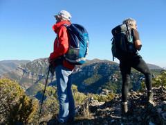 Mont mejean - Randonnée à la journée Gard - la vue des cimes