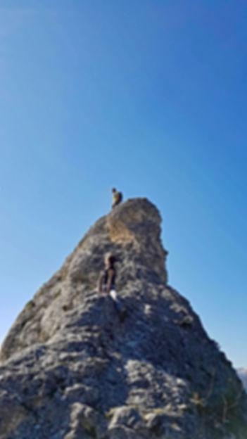 randonnée Pyrénées la vue des cimes